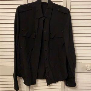 TOM FORD Size 40 Women's Long sleeve silk blouse